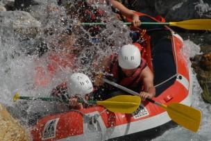 raft ubaye gorge