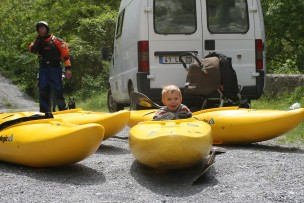 location kayak hautes alpes