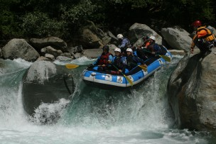 Raft Safari Soana